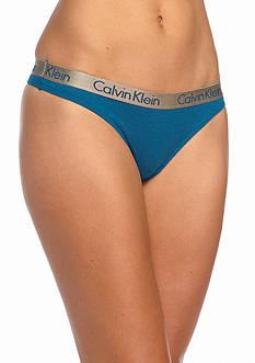 Calvin Klein Radiant Cotton Thong - QD3539