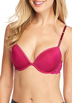 Calvin Klein Seductive Comfort Lace Push Up Bra - QF1446