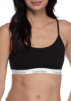 Calvin Klein Solid Cotton Bralette - QF1536
