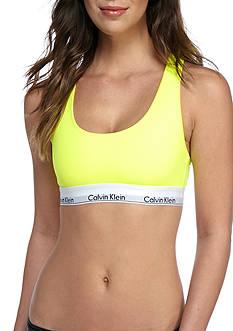 Calvin Klein Modern Cotton Logo Bralette - QF1659