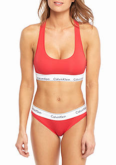 Calvin Klein Modern Cotton Bralette and Bikini Gift Set -  QF1693