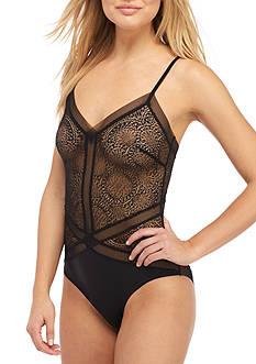 Calvin Klein Lace Endless Bodysuit - QF1790