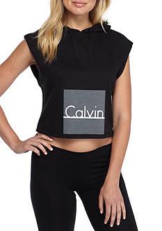 Calvin Klein Sleeveless Lounge Hoodie- QS5651