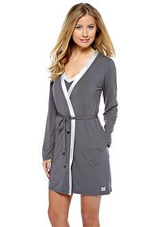 Calvin Klein Short Wrap Robe