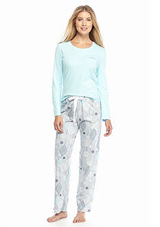 Jockey® 2-Piece Printed Jersey Pajama Set