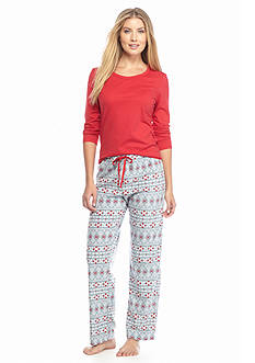 Jockey® 2-Piece Microfleece Pajama Set