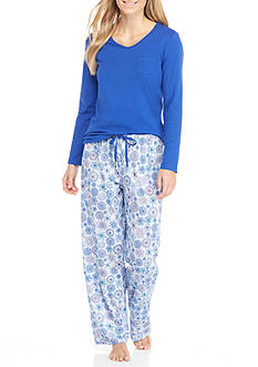 Jockey® Knit Jersey Pajama Set