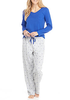 Jockey Knit Jersey Pajama Set