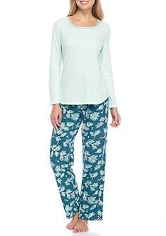 Jockey Micro Fleece Knit Pajama Set