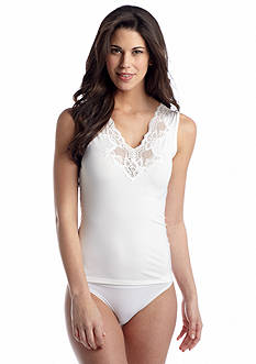 Jones New York V-Neck Lace Camisole - 610249