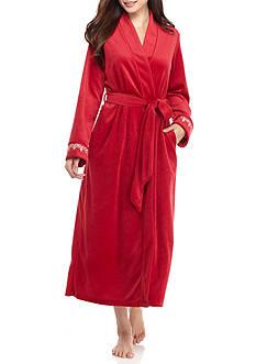 Jones New York Velour Robe