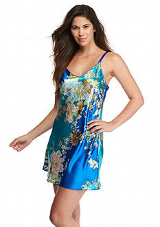 Jones New York Asian Garden Satin Chemise