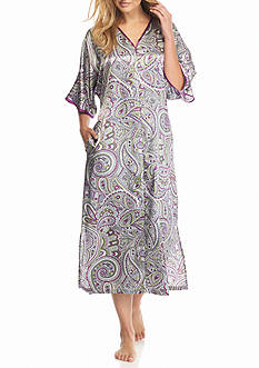 Jones New York Paisley Montage Caftan
