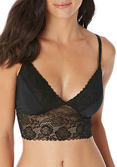 Jessica Simpson Young & Beautiful Lace Trim Bralette - JS16554