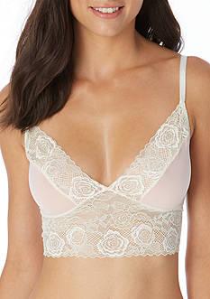 Jessica Simpson Young & Beautiful Lace Trim Bralette - JS16554