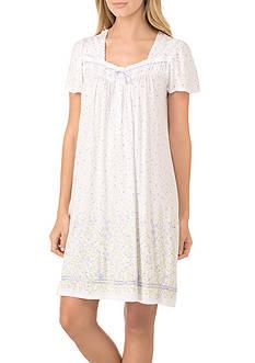 Aria Flutter Sleeve Short Gown