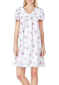 Aria Short Flutter Sleeve Night Gown
