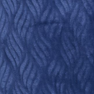 Aria Style: Navy Aria Chenille Zip Robe