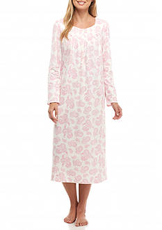 Aria Long Sleeve Ballet Knit Nightgown