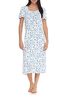 Aria Short Sleeve Ballet Knit Nightgown