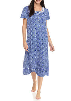 Aria Short Sleeve Ballet Knit Nightgown