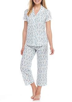 Aria Short Sleeve Capri Pajama Set