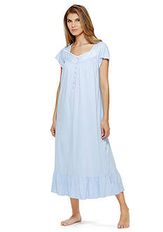 Eileen West Cap Sleeve Long Nightgown