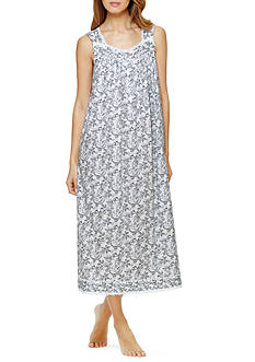 Eileen West Sleeveless Paisley Ballet Gown