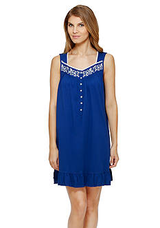 Eileen West Sleeveless Chemise Gown