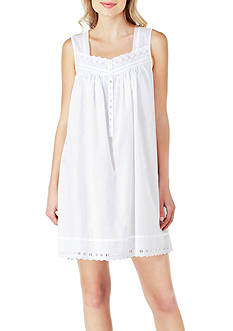 Eileen West Sleeveless Built Up Chemise