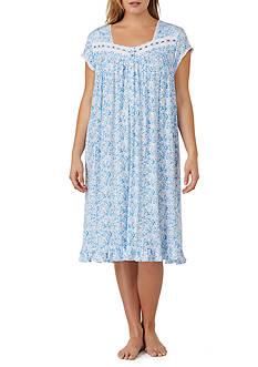 Eileen West Plus Size Modal Knit Sleepshirt