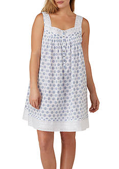 Eileen West Plus Size Woven Short Chemise