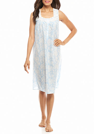 Kim Rogers® Simple Paisley Sleeveless Gown