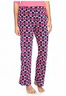 Kim Rogers® Pink Tribal Plush Fleece Pant