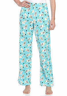 Kim Rogers Franklin Plaid Plush Sleep Pants