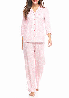 Kim Rogers Block Paisley Pajama Set