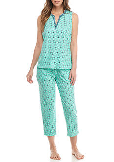 Kim Rogers® Cozy Split V-Neck Pajama Set