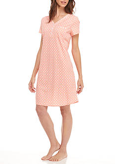 Kim Rogers Circle Dot Sleepshirt