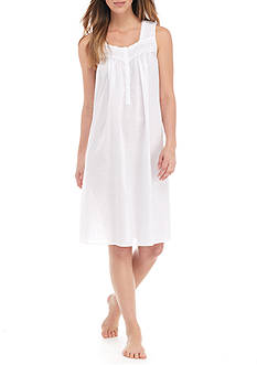 Kim Rogers® Sleeveless Dotted Nightgown