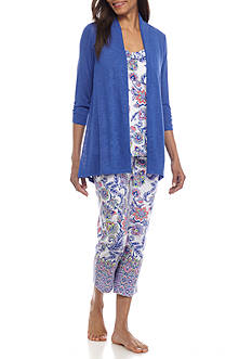 Kim Rogers® Floral 3 Piece Summer Set