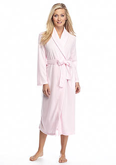 Jasmine Rose Houndstooth Knit Shawl Wrap Robe