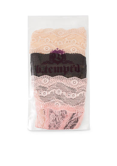 b.tempt'd by Wacoal Lace Kiss Thong 3-Pack -  976282