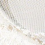 Women: Designer Sale: White / Ivy Lunaire Sevilla Embroidered Demi Bra - 14011