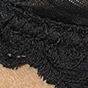 Lunaire Women's Plus Sale: Black Lunaire Barbados Demi Bra - 15211