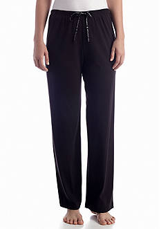 HUE® Solid Knit Sleep Pant