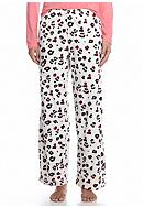 HUE® Animal Knit Long Sleep Pants