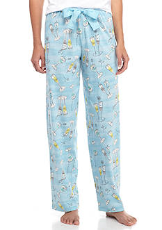 HUE Cocktail Break Pajama Pant
