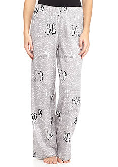 HUE Words with Penguins Pajama Pant