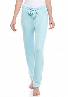 HUE Quilted Jogger Pajama Pant