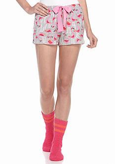 HUE Flamingo Boxer/Socks Set